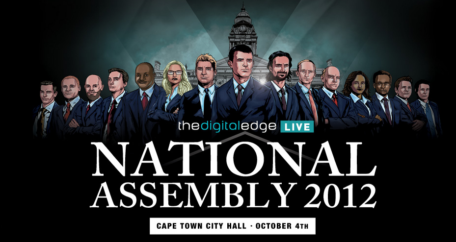 Digital Edge Live, Living Your Brand, Native, Cape Town City Hall